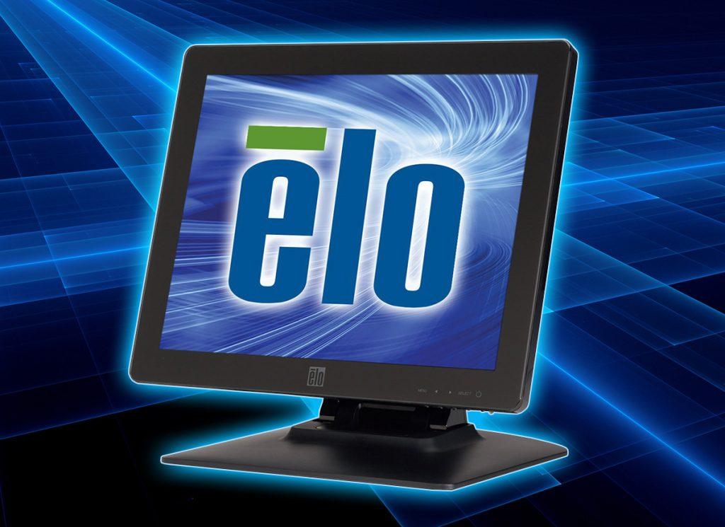 Monitor marki Elo z ekranem dotykowym