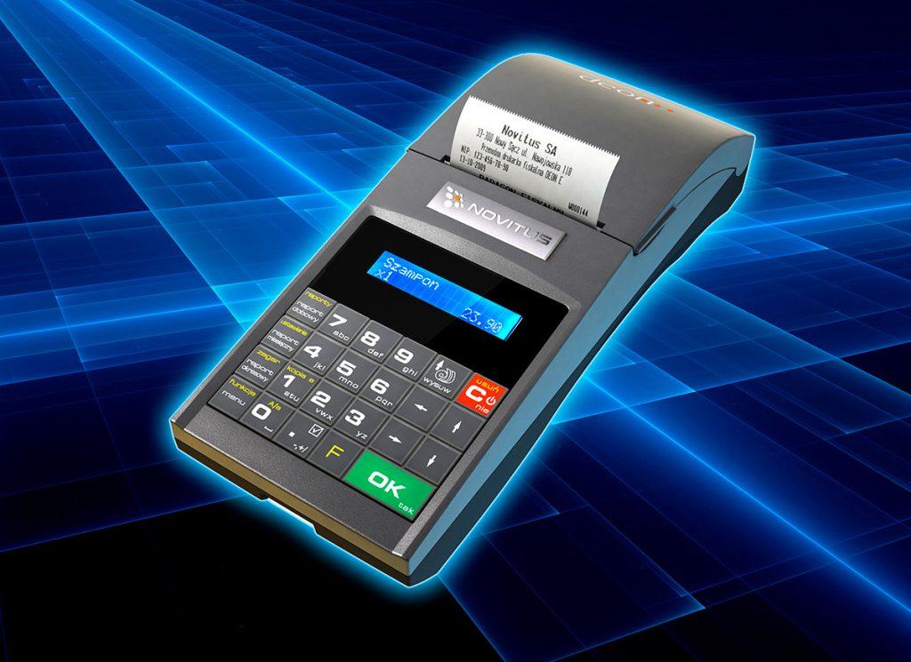 Novitus Deon E - mobilna drukarka fiskalna