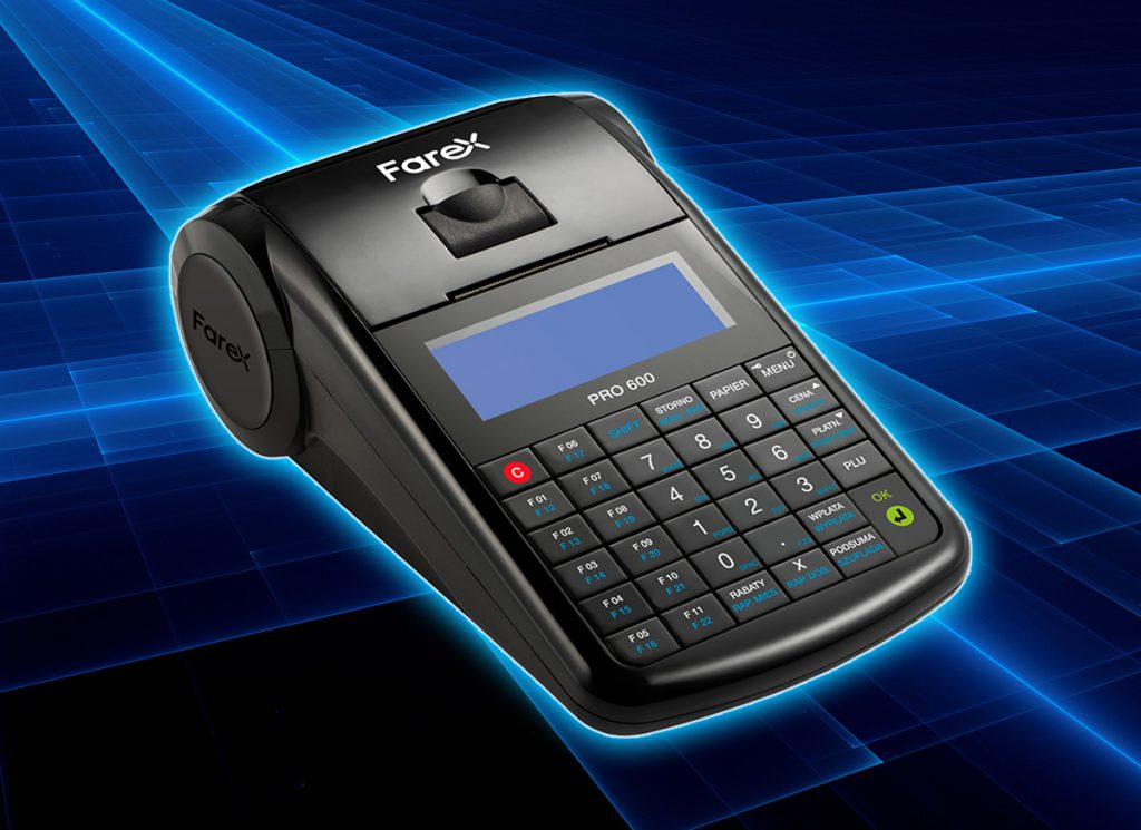 Mobilna kasa online Farex Pro 600